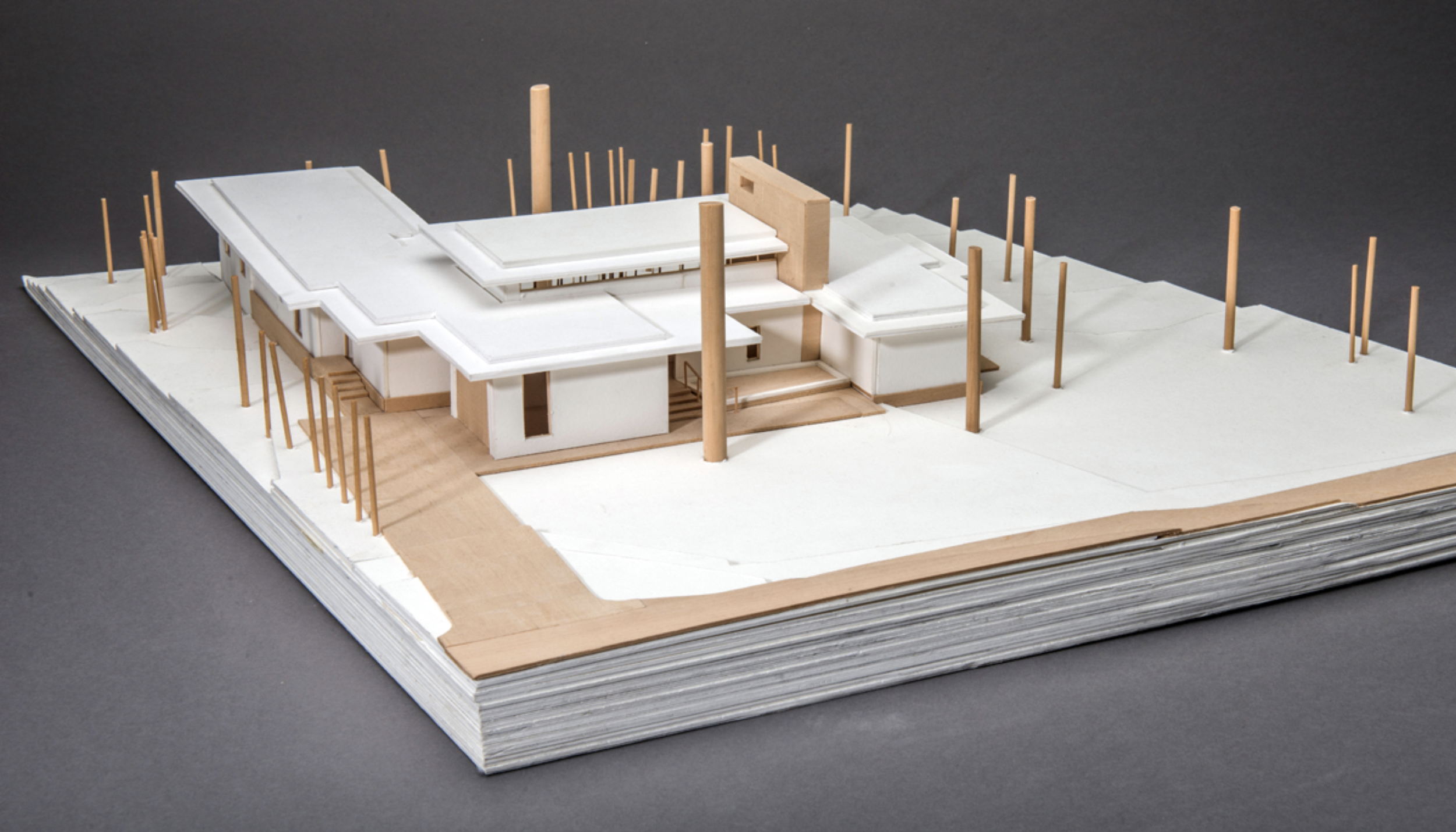 Image of  Kenny Lane  project model provided by  Michael Malone of Malone Maxwell Borson Architects