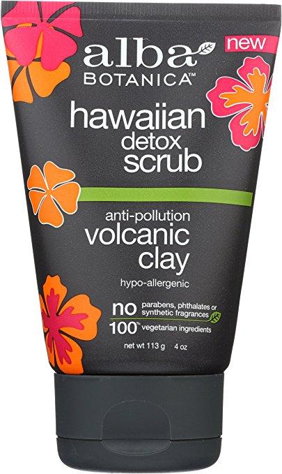 alba botanica hawaiian detox scrub