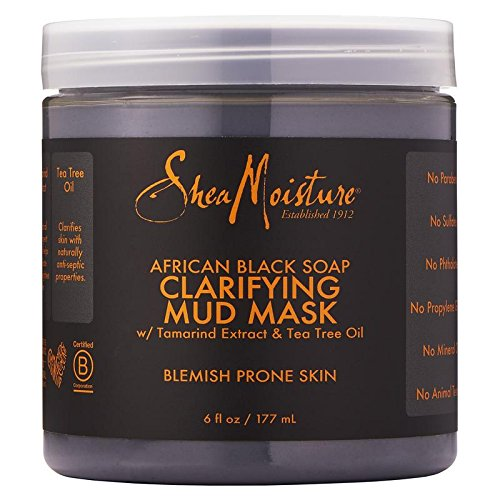 shea moisture african black soap mud mask