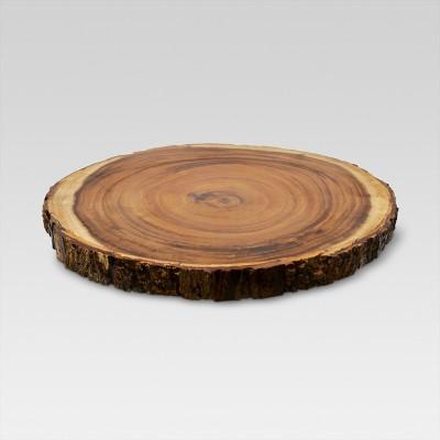 "Acacia Serving Platter 12-15"" Brown - Threshold™"