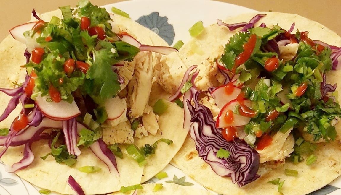 Garlic Herb Chicken Tacos Dinner Recipe gluten free