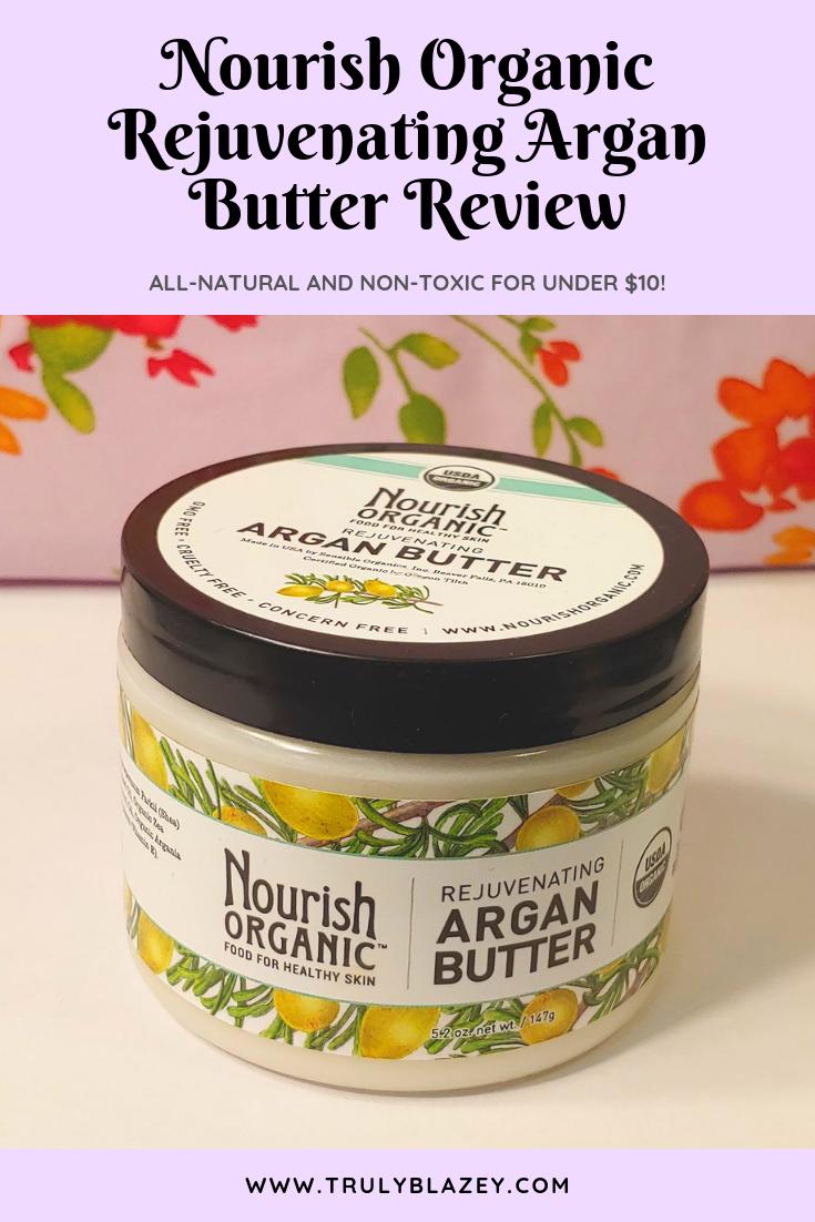Nourish Organic Argan Butter Review