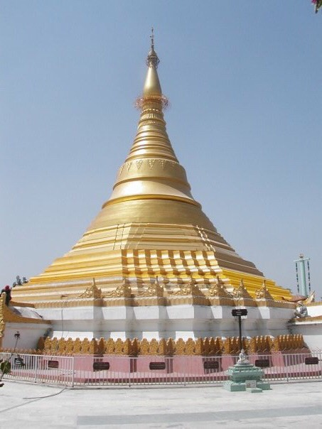 A Buddhist Stupa in the centre of Kathmandu.