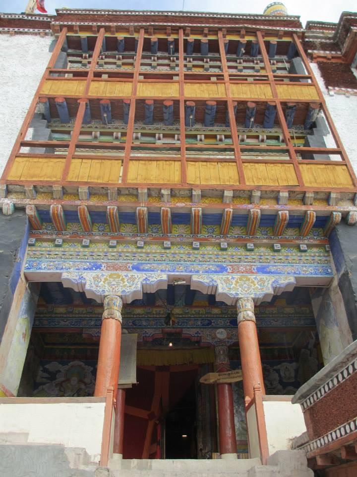 The Hemis Monastery, near Leh, Ladakh.