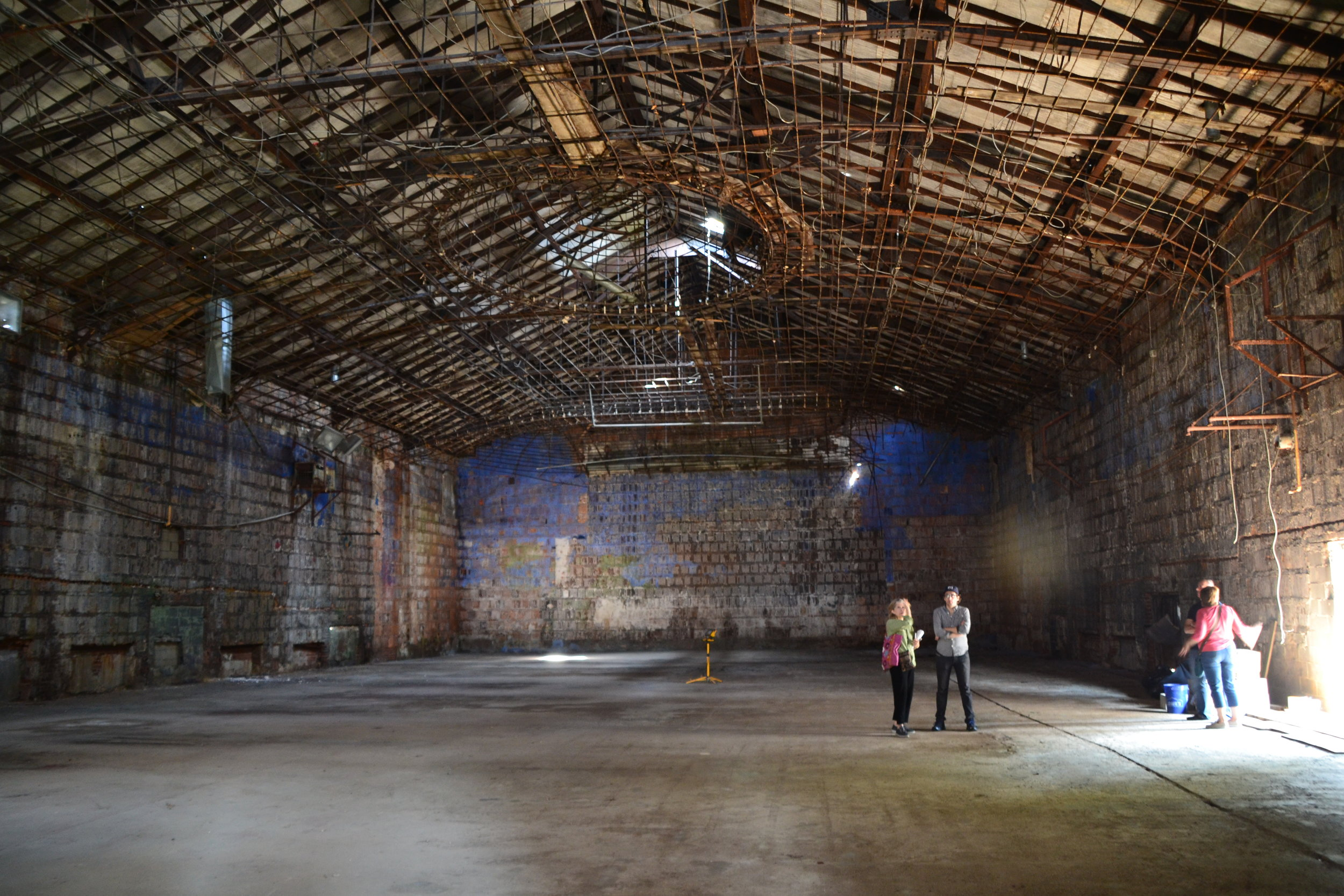 The Stadium Theatre's 11,000 square feet of blank canvas could be ground zero for the reinvention of Tottenville.