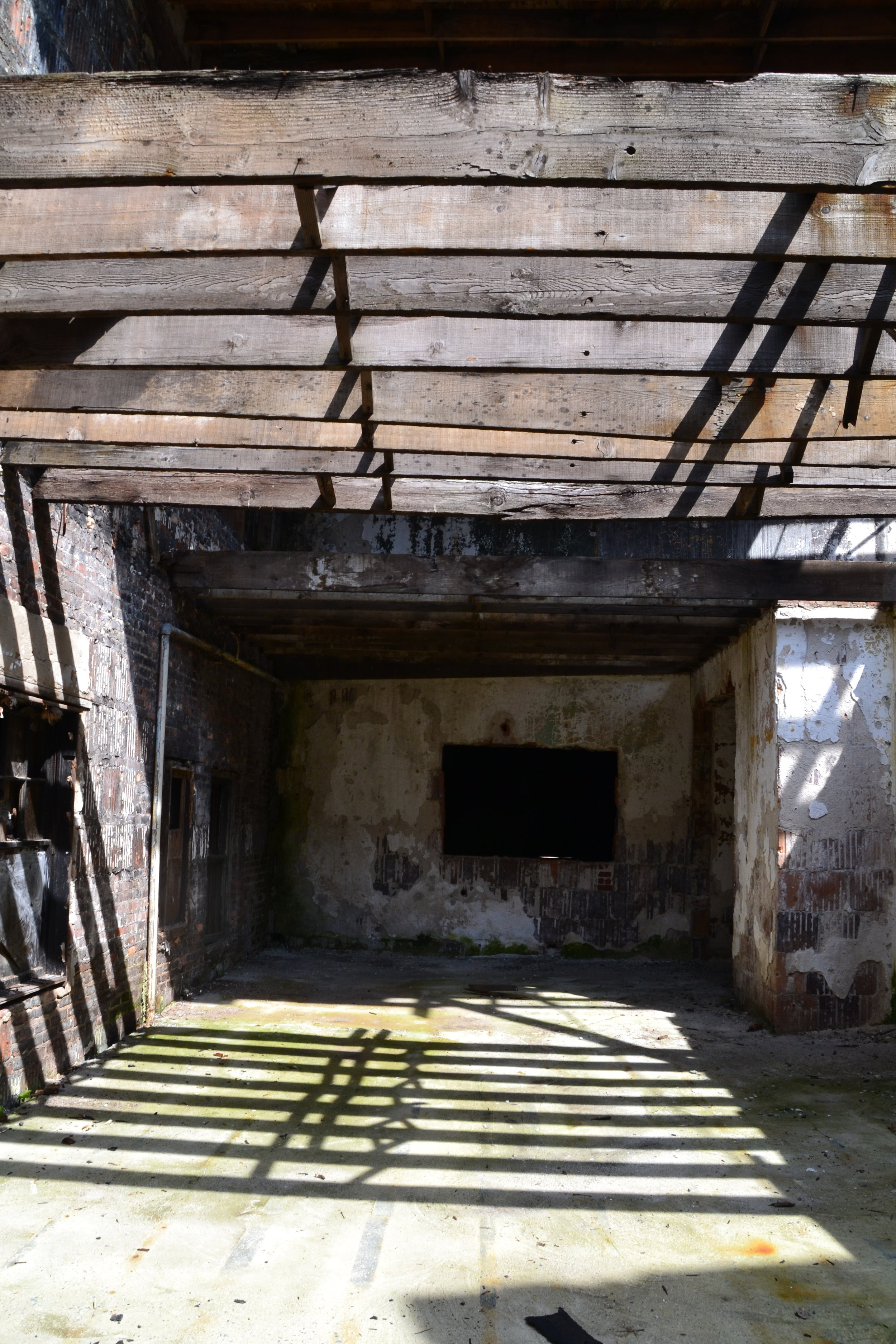 The interior demolition of the theatre revealed the structures good bones.
