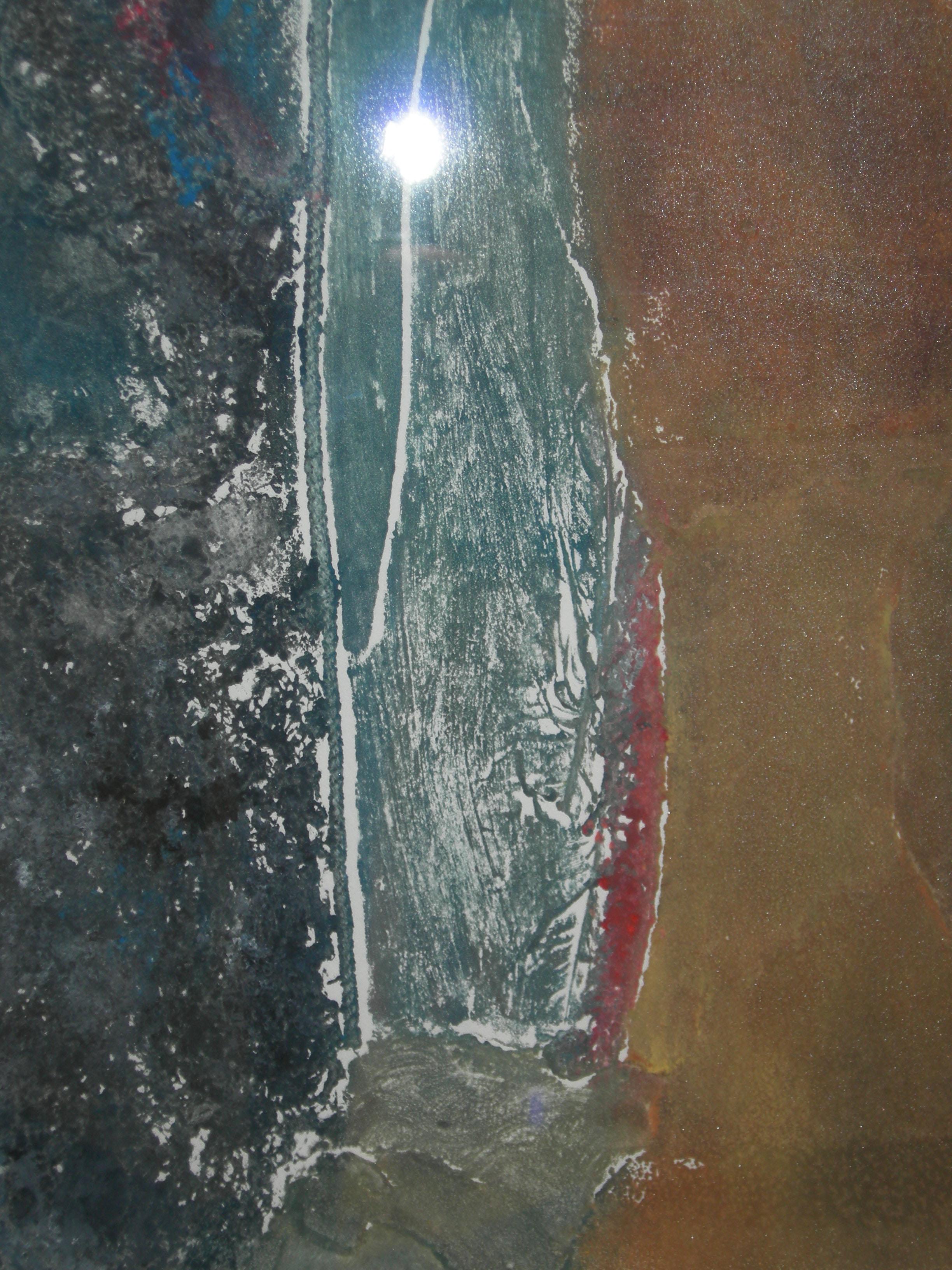 Earthscape, collagraph,   11x14  PGoodrich.jpg