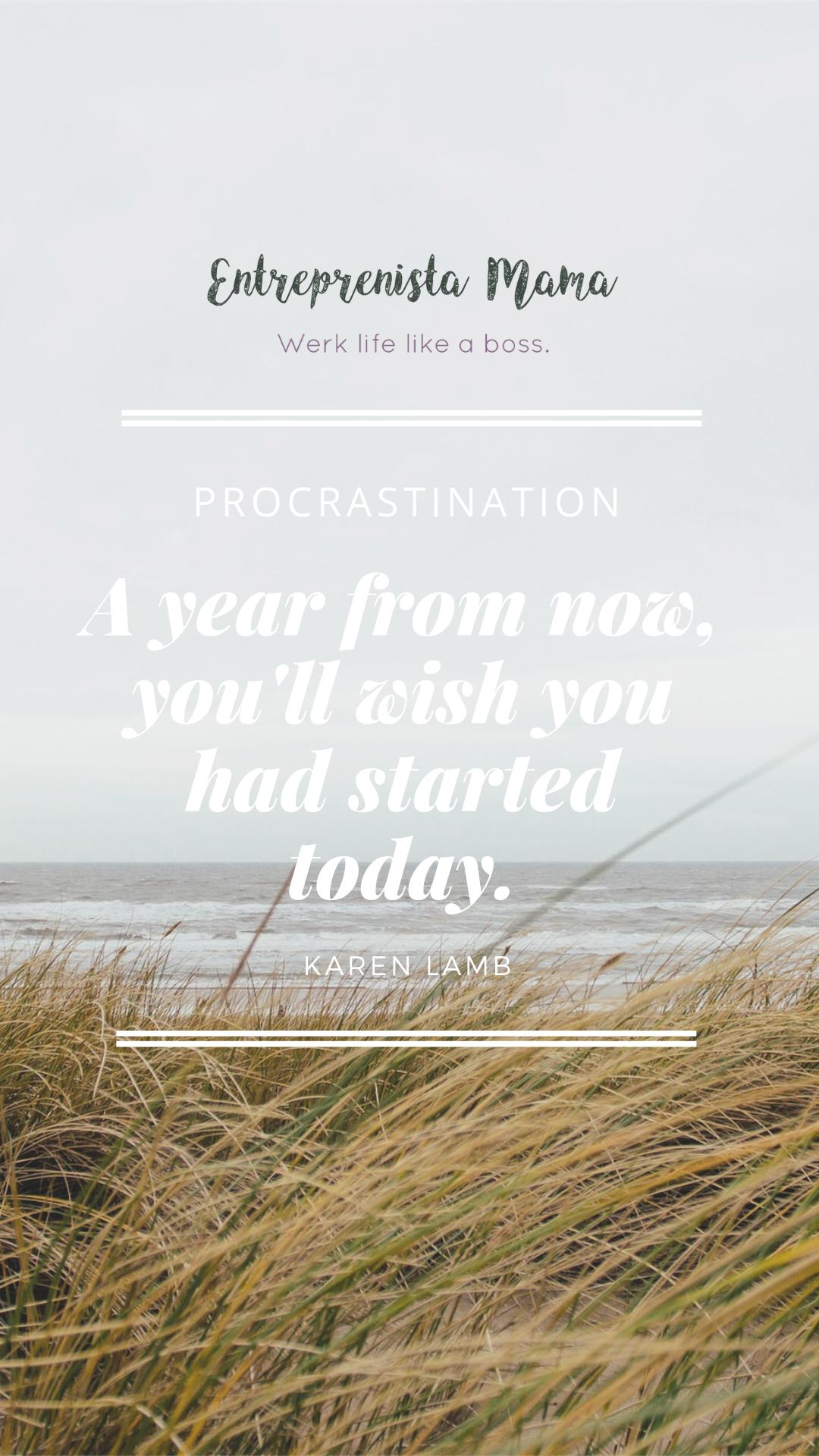 Start today. Thrive tomorrow.