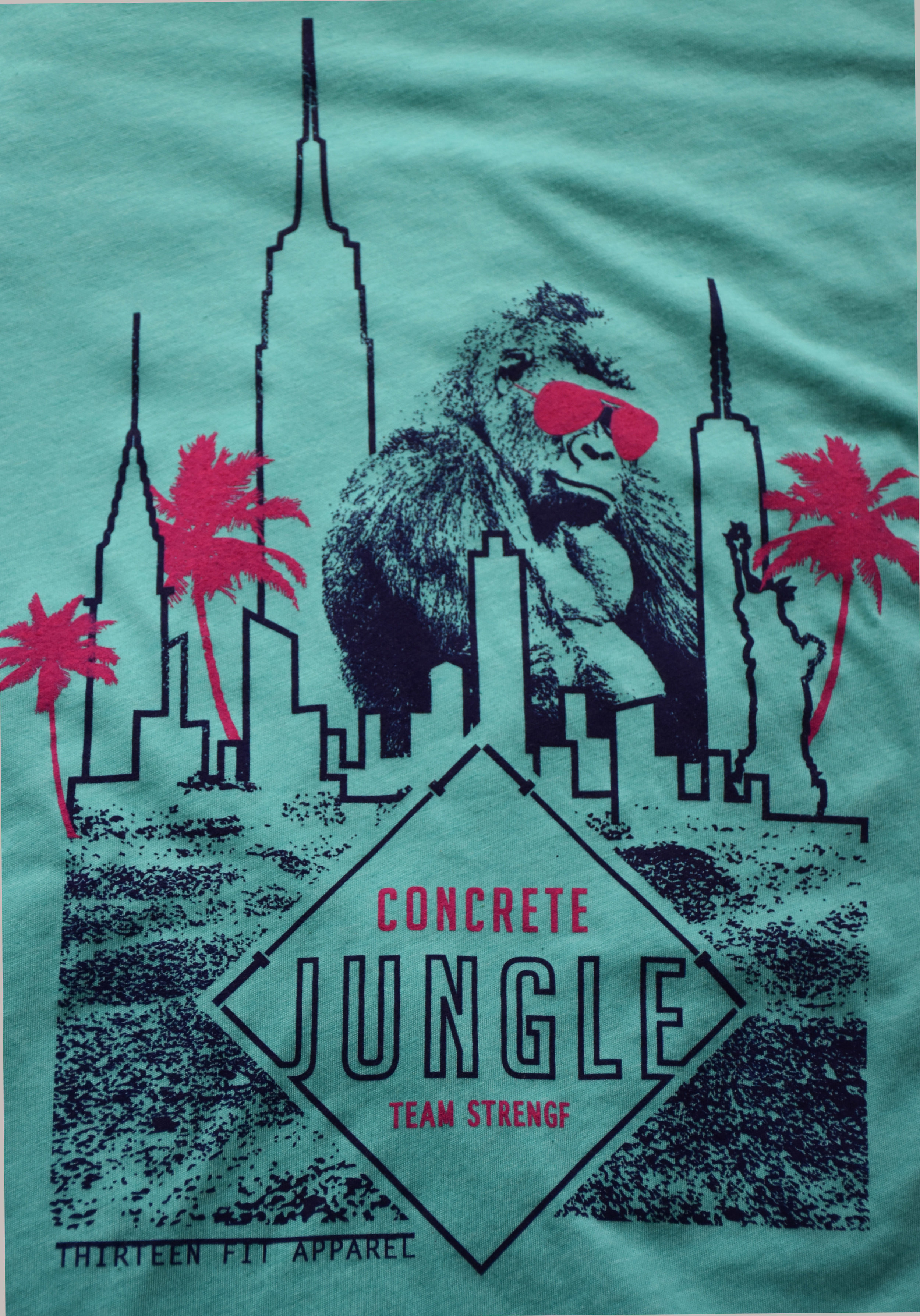Concrete Jungle Strength + Conditioning Team Tees for the Asbury Park Summer Games