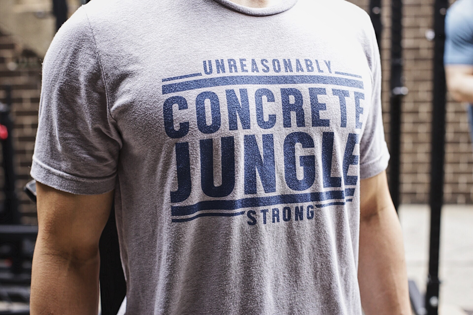 CrossFit Concrete Jungle Unreasonably Strong Tees