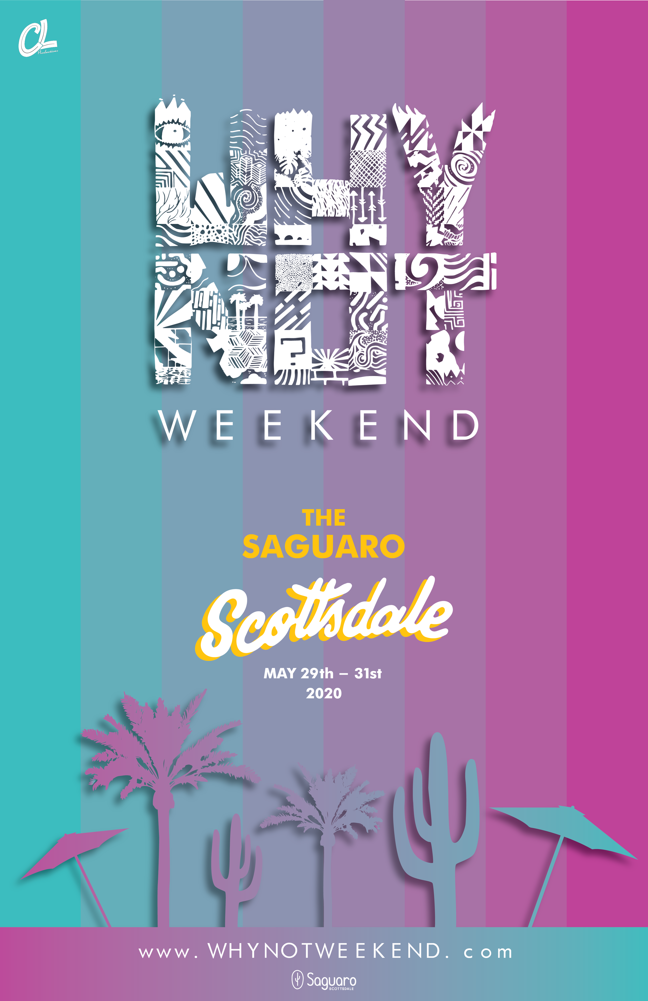 WHY NOT Weekend Concert Event Poster