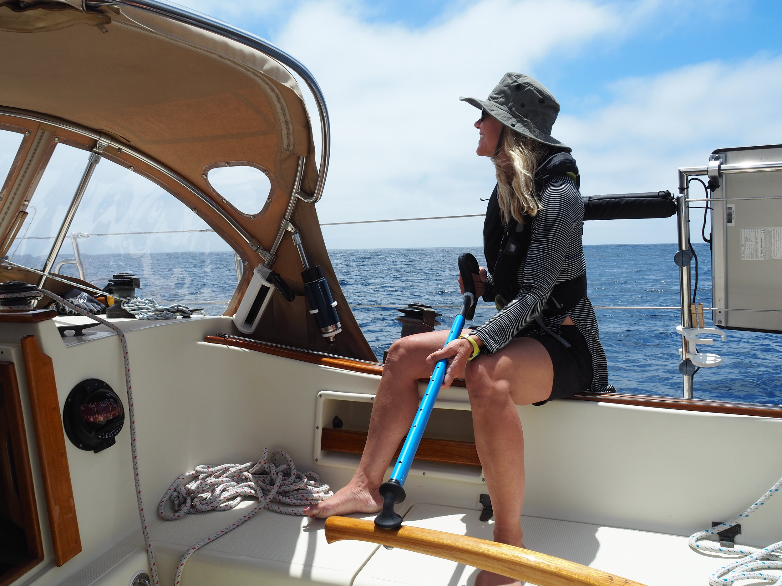 Happiness is 15 knots, sunshine and silence