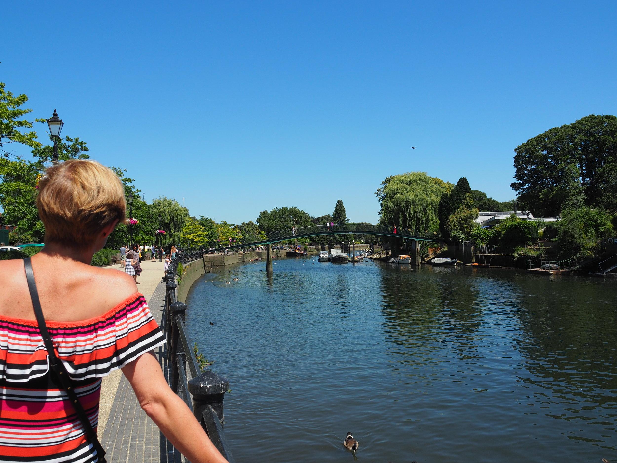 Quaint riverside walks and bridges: Check and check.
