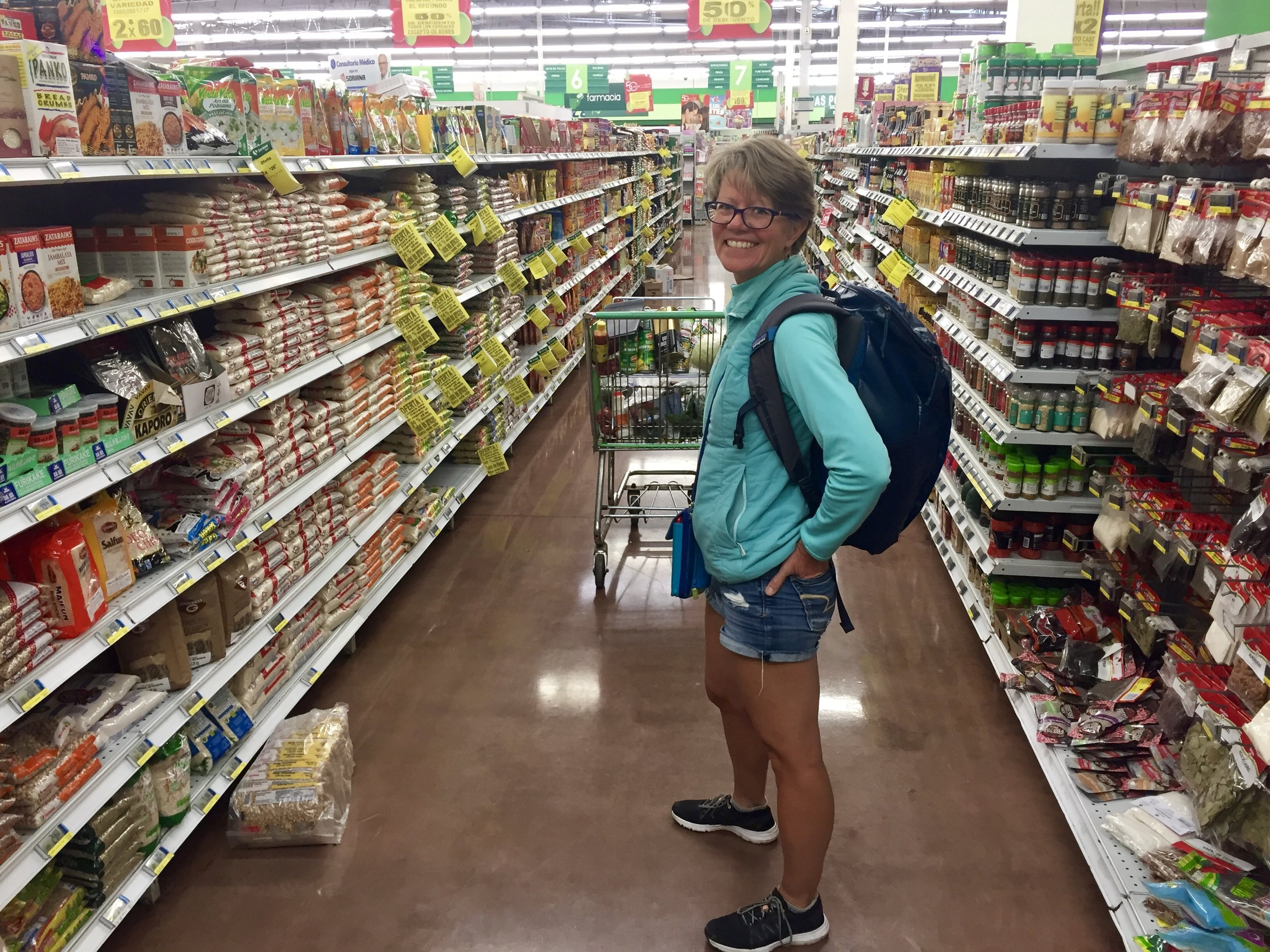 Grocery shopping in Ensenada