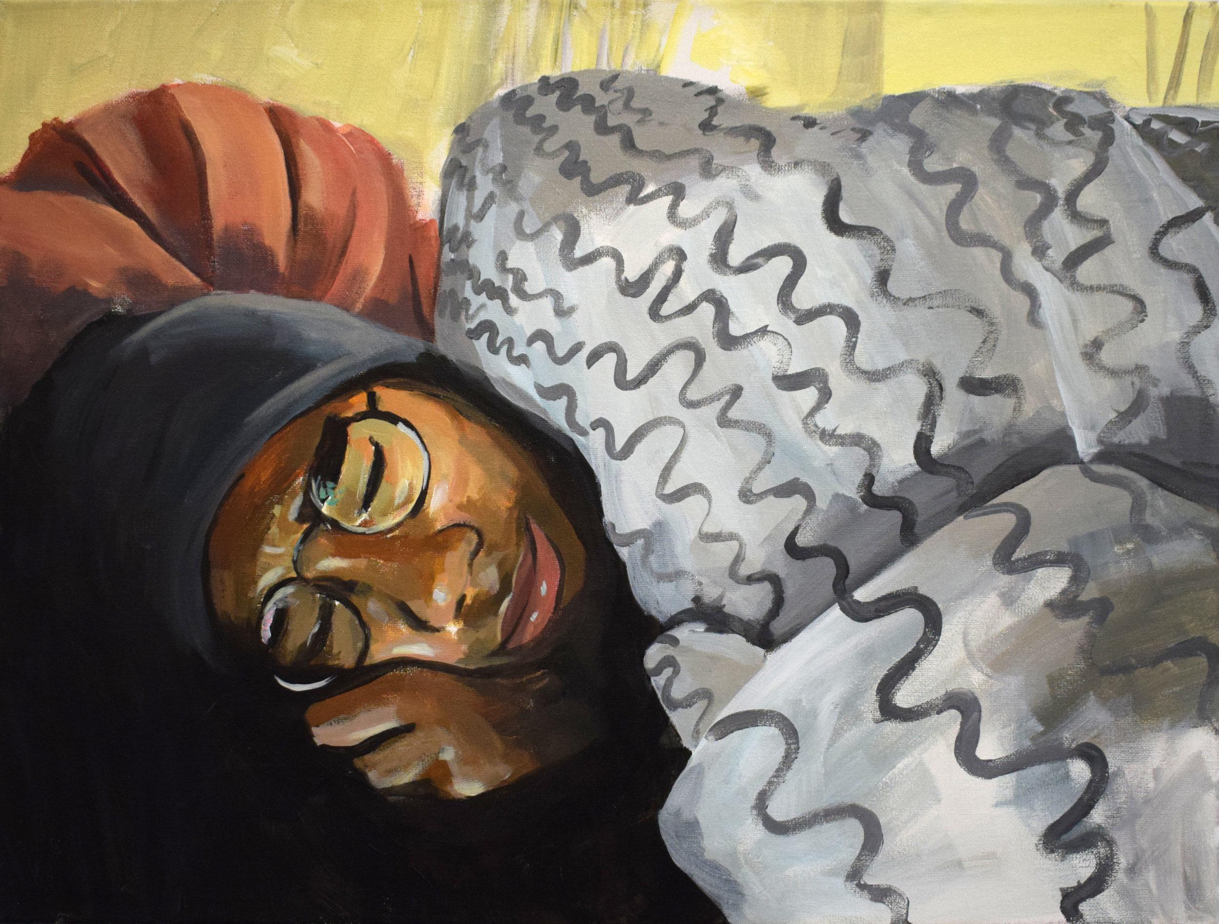"""Untitled"" 2017 (18""x24"") Acrylic on Canvas"