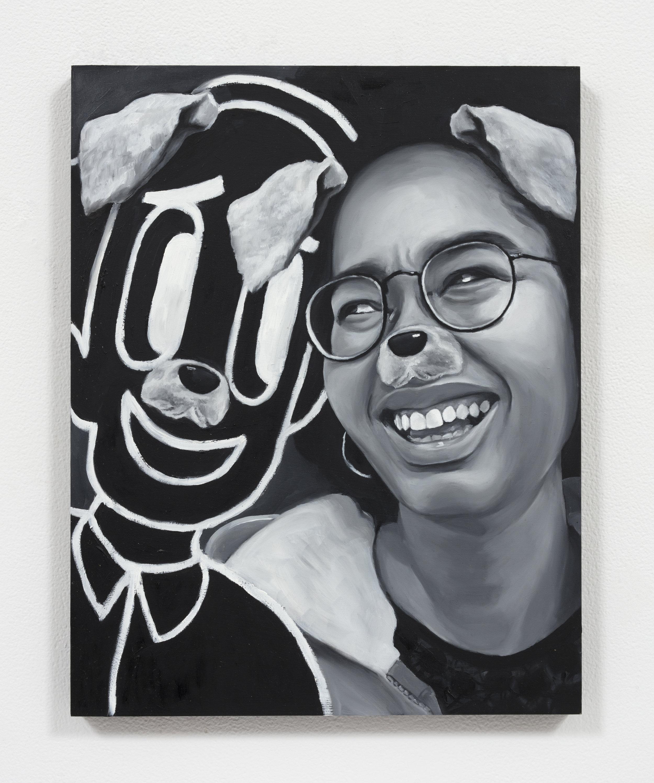 """Dog Eat Dog"" Oil on Panel (11"" x 14"") 2019"