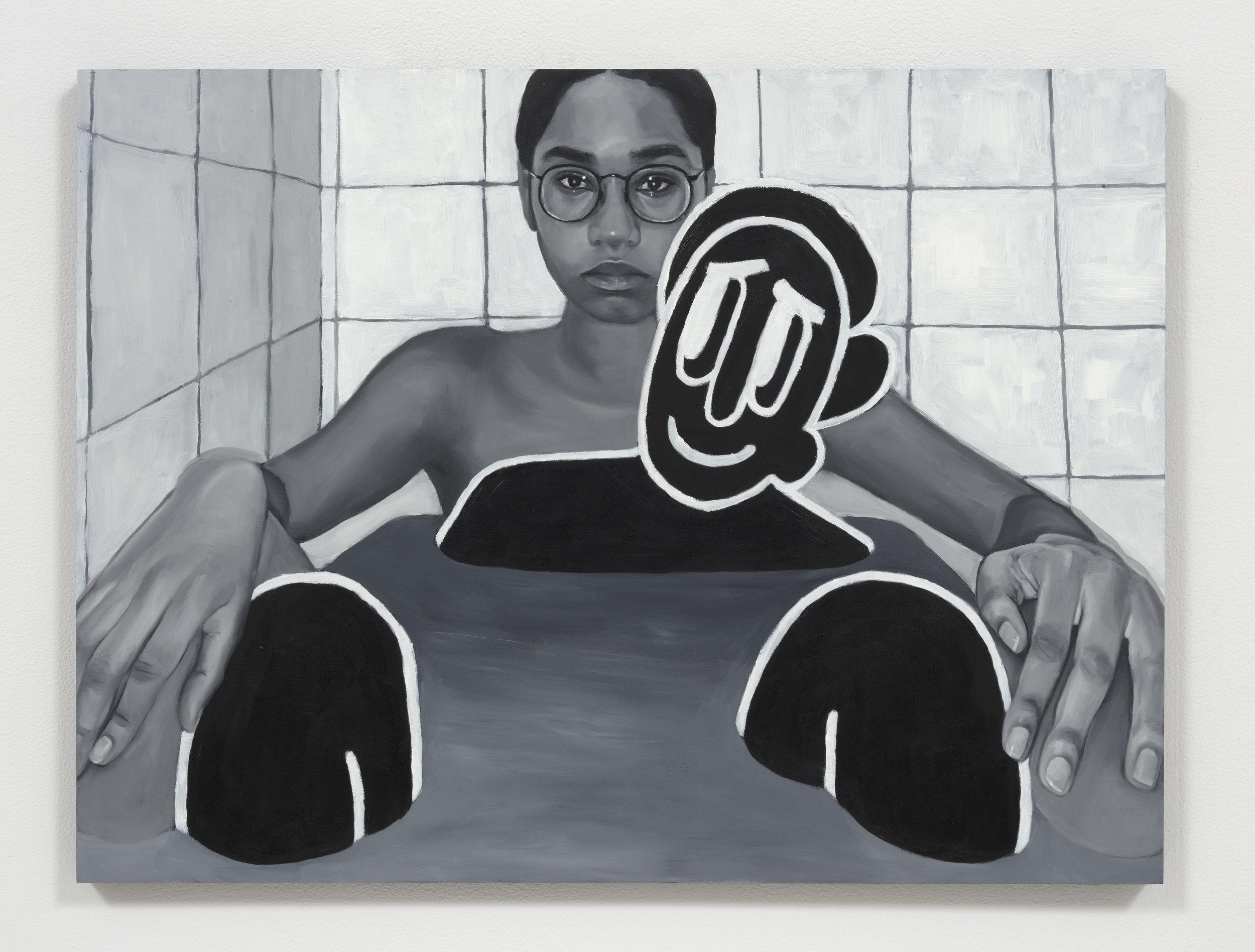 """Bath Time"" Oil on Panel (18"" x 24"") 2019"