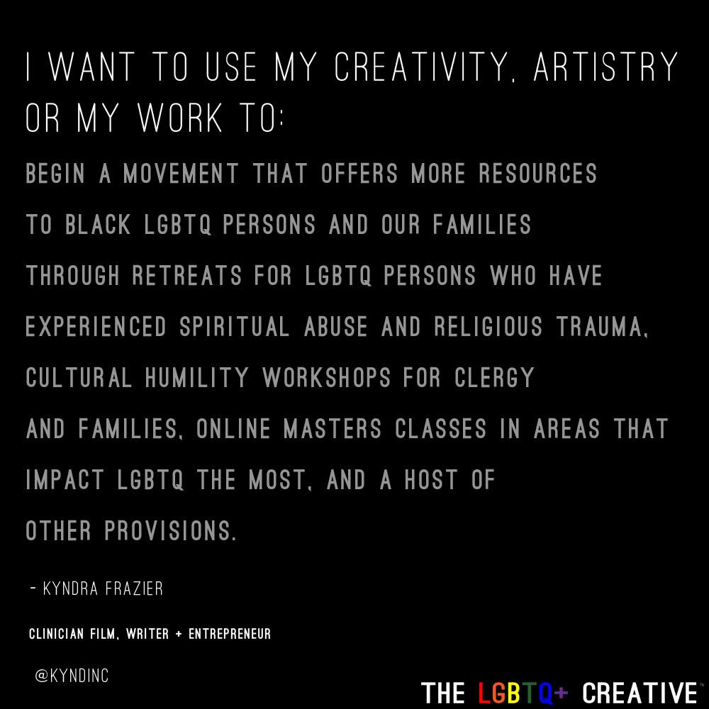 Creative Manifesto - Kyndra Frazier