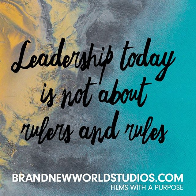 Great leaders are mentors, not tormentors. It's about being supple, open, authentic, and vulnerable and standing for truth. #leadership #authentic #purpose #shareyourstory #brandnewworldstudios