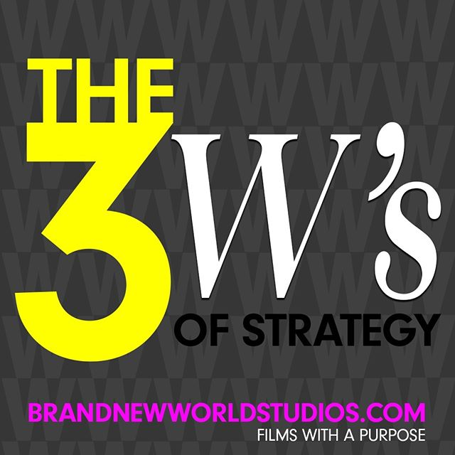 Strategy on purpose is not driven by the marketplace but by your distinctive place - your organization's role in the world. When writing your purpose-driven strategy, keep in mind the three W's: 1. Who am I selling to? (your market) 2. What am I selling? (your product/service) 3. Why am I selling? (your reason for doing do) #purpose #shareyourstory #thethreews