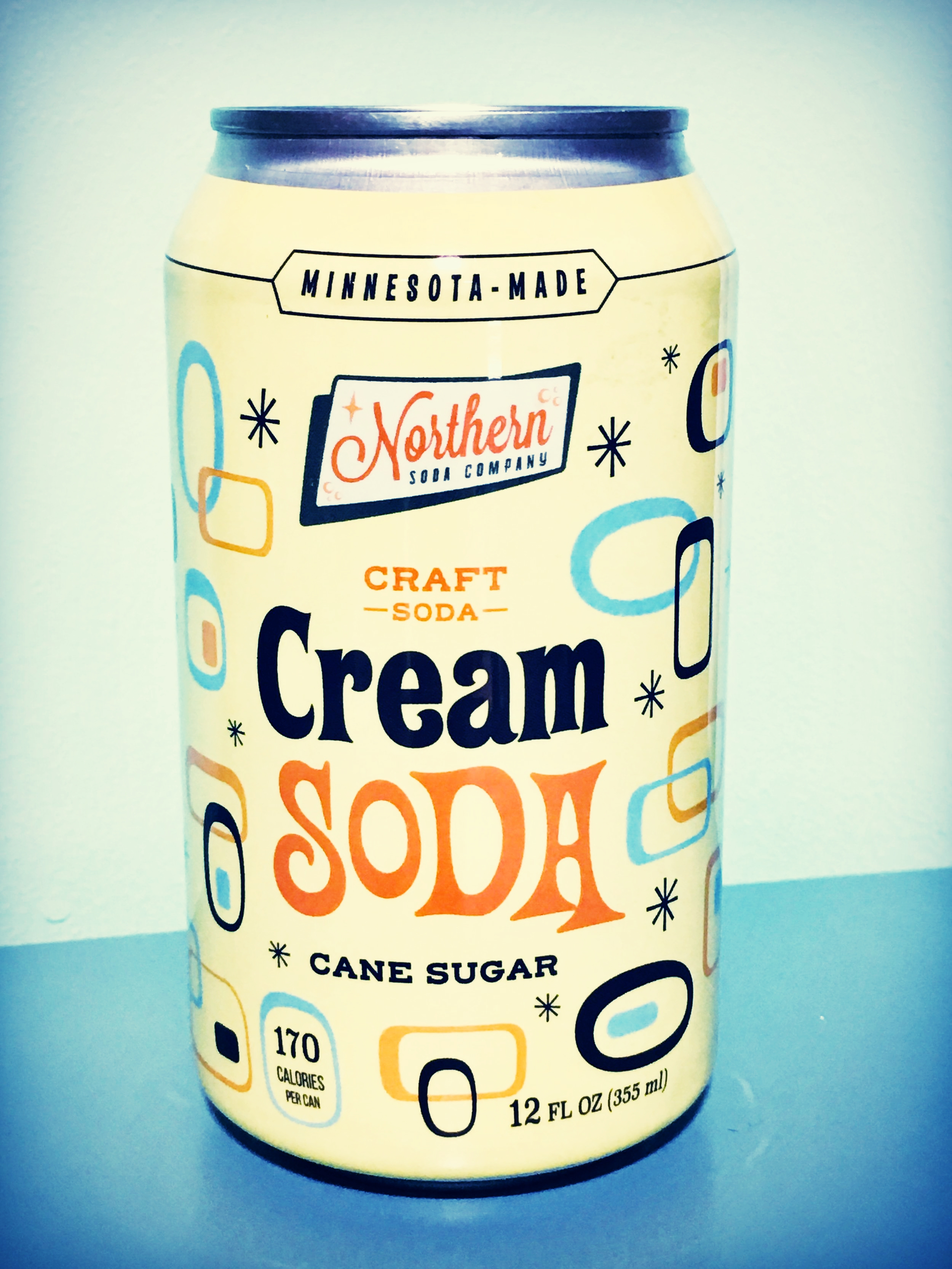 A 12 oz time machine! One sip transports you back to the days of paper routes, soda fountains, and drive in movies.