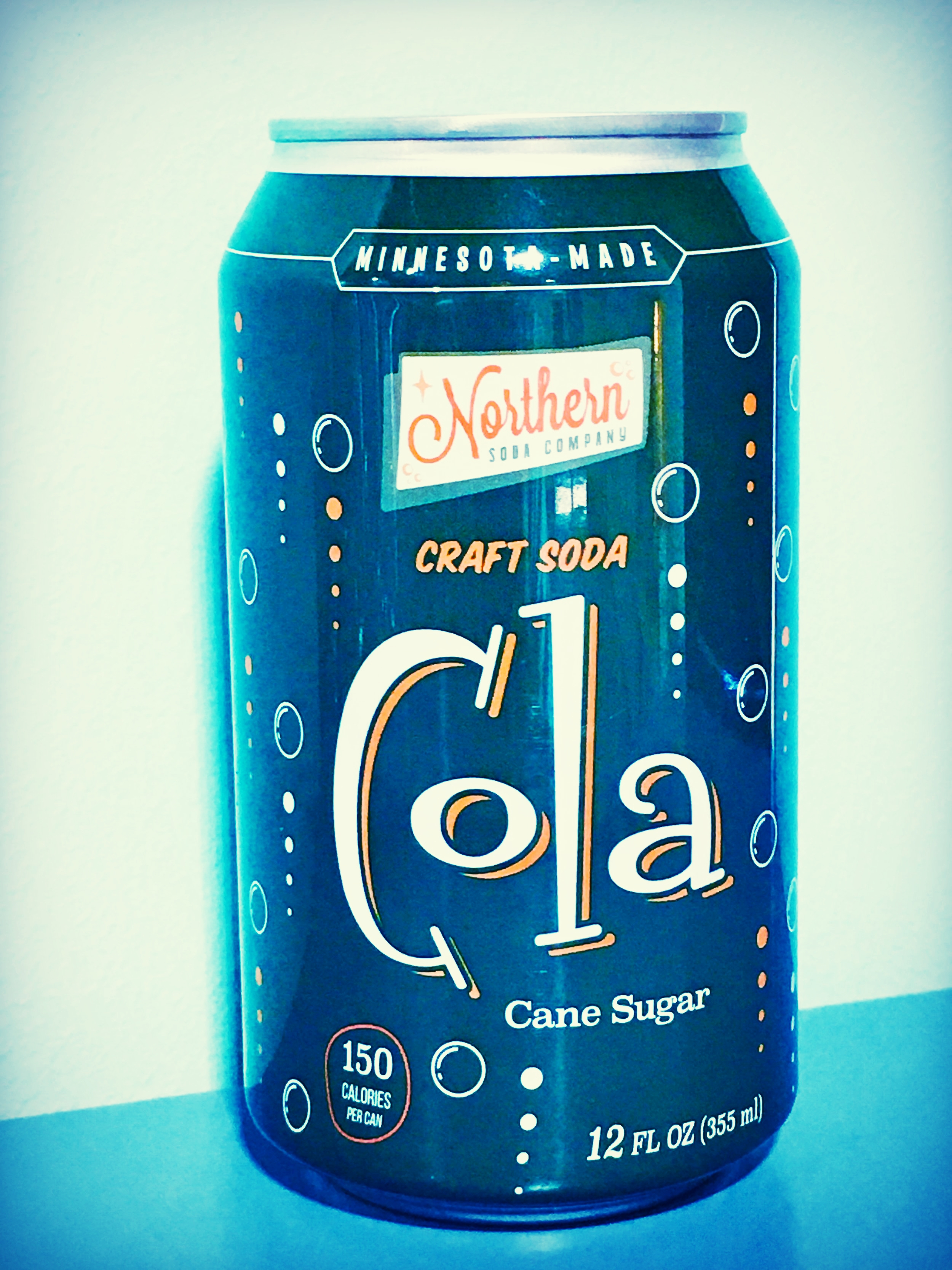 Cola the way cola is supposed to be. gently carbonated, ultra-flavorful and ultra smooth.
