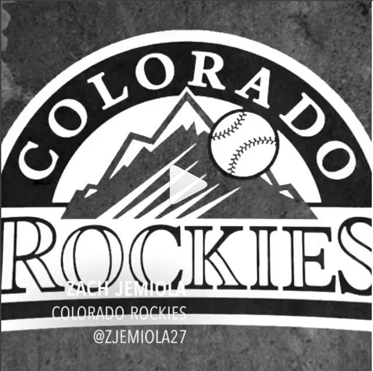Zach Jemiola   Colorado Rockies  - @zjemiola27
