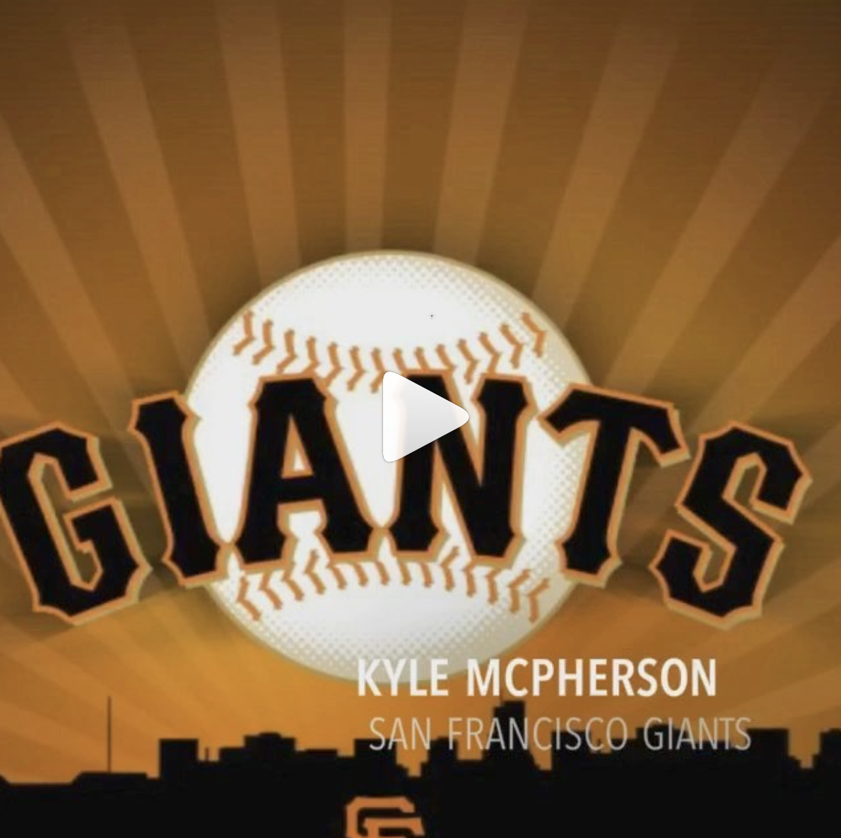 Kyle McPherson San Franciso Giants - @k_maac