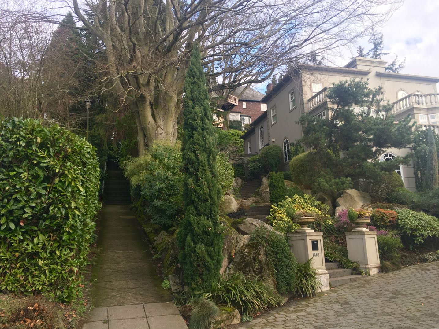 Queen Anne Hill neighborhood home, Seattle