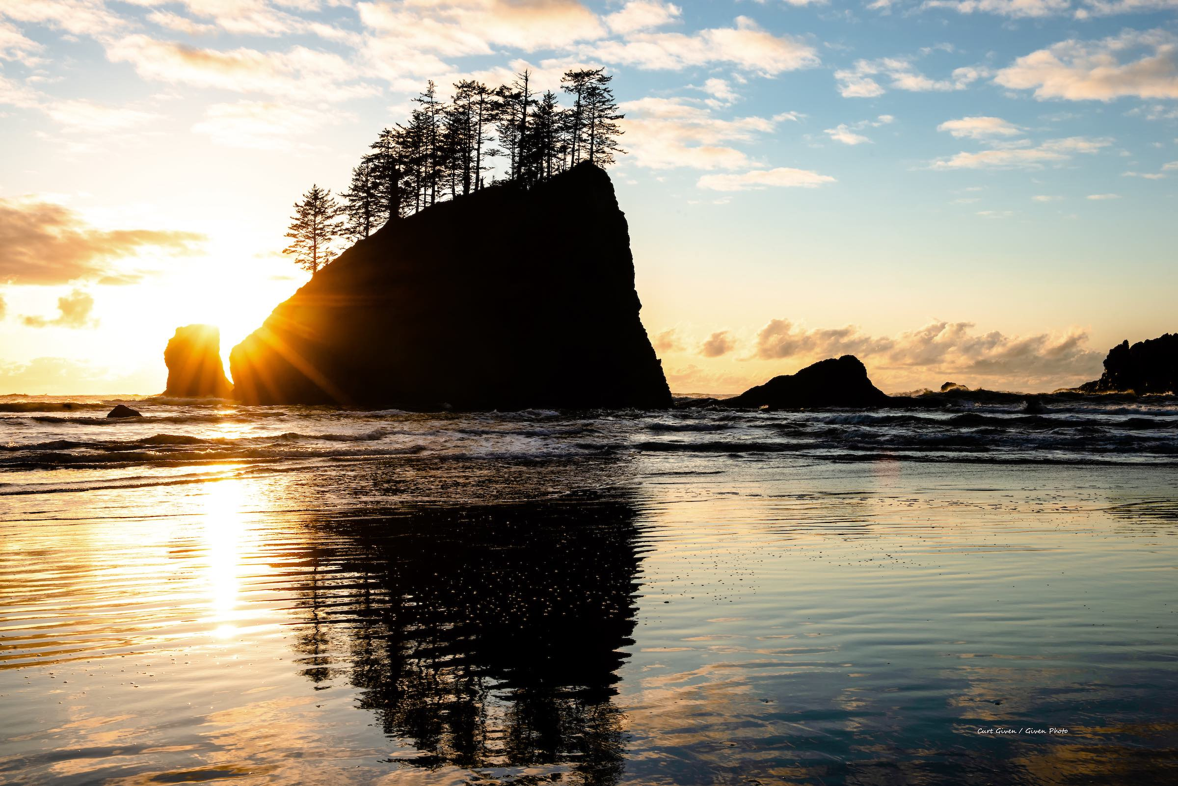SECOND BEACH, OLYMPIC NATIONAL PARK. WASHINGTON STATE. © 2019 GIVEN PHOTOGRAPHY