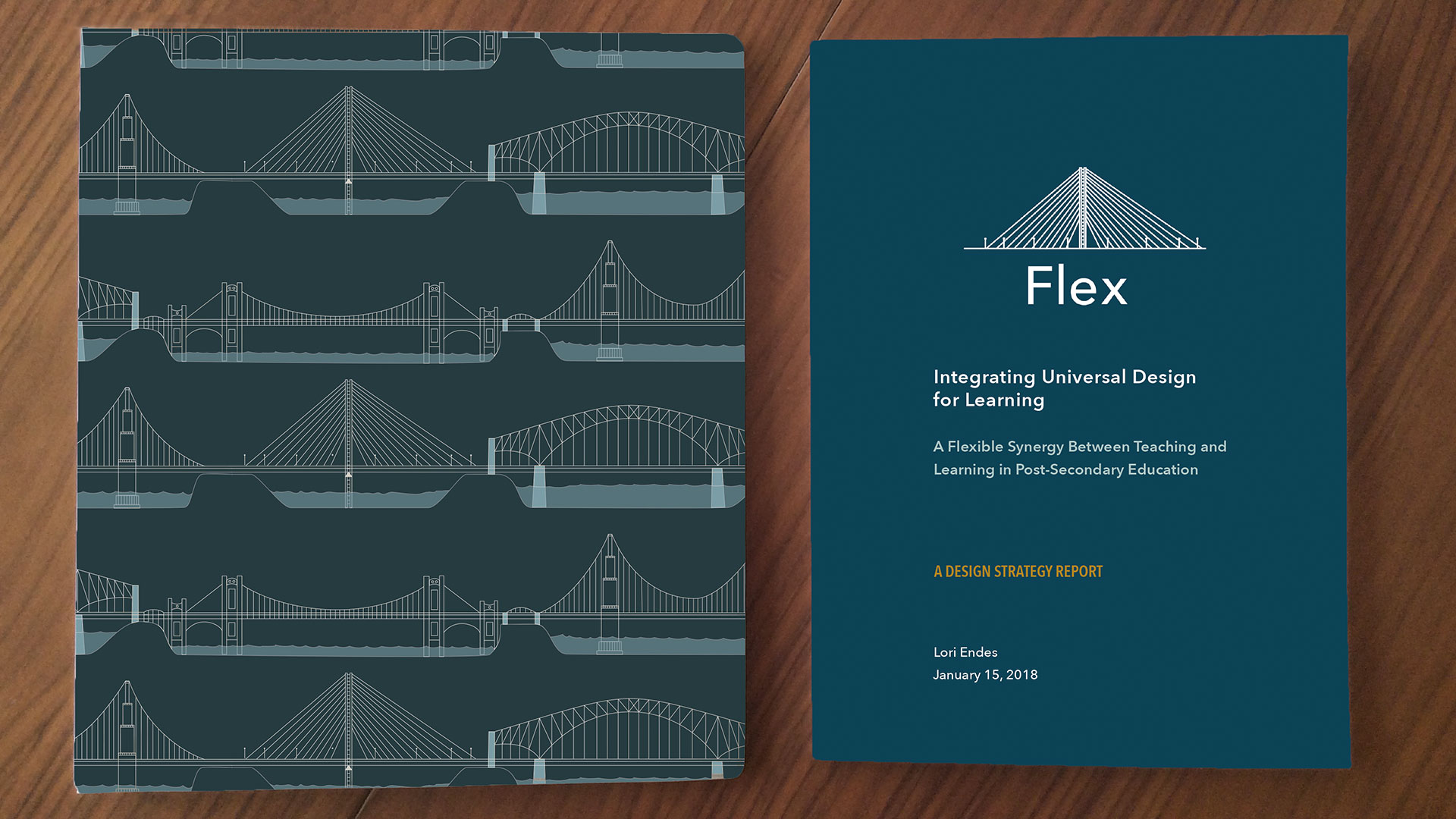 Left: Flex Toolkit (binder), Right Flex Report