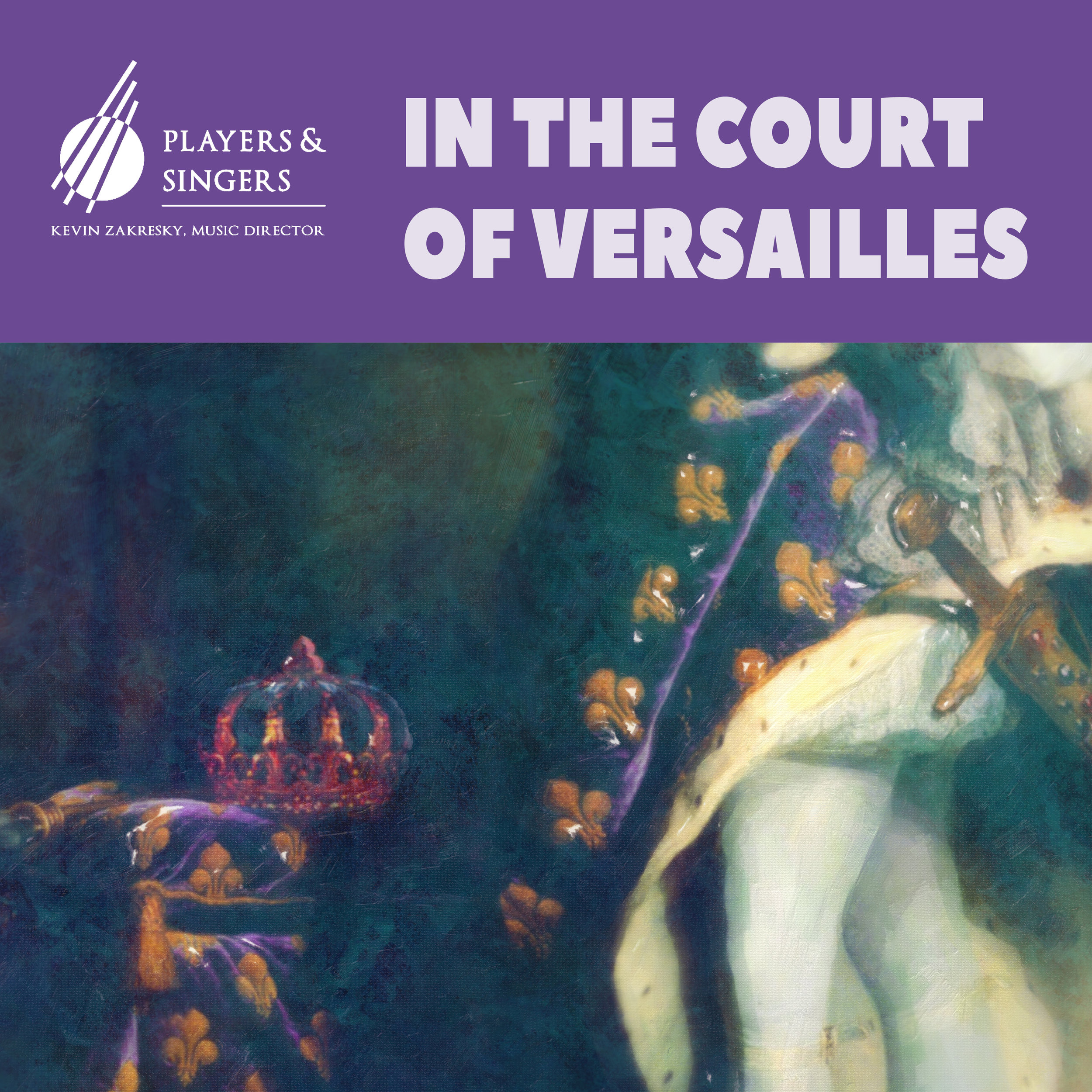 """In the Court of Versailles - Saturday, October 26 - 3pm & 8pmAn evening to celebrate the glory of Louis XIV and the greatest royal court of the 17th-Century.Marc-Antoine Chapentier's opera Les plaisirs de Versailles (The Pleasures of Versailles) premiered in 1682 at the exclusive Les appartements du roi (King's Receptions). In it the characters """"Music"""", """"Gambling"""", """"Pleasure"""" and """"Conversation"""" praise the King and help him relax after coming back from his wars. Jean-Baptiste Lully's earlier 1657 ballet L'amour malade (Love Illness) features Louis as principal dancer, telling the story of his battle with love-sickness and eventual revival through entertainment."""