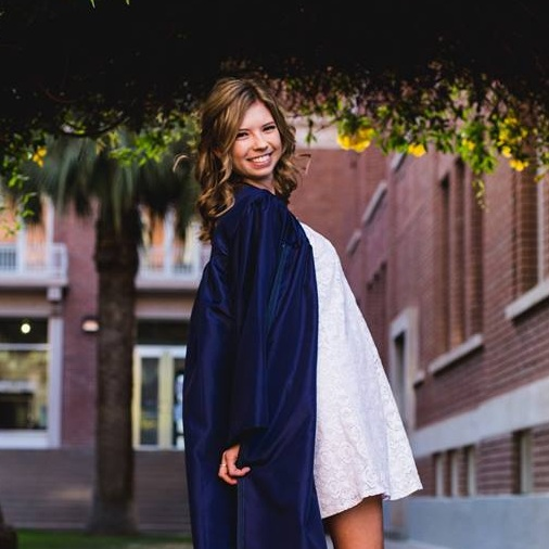 """""""Jackie took my senior graduation photos in May 2015, It was amazing experience to say the least! She was very patient with 6 girls taking group and individual photos. She even brought some of her own props to make our pictures extra special. Jackie's attention to detail is unlike anyone else! Thank you again Jackie!!!""""  Lauren Berkheimer, Senior Buyer"""