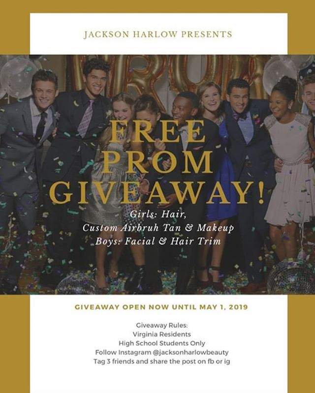 PROM MAKEOVER GIVEAWAY!! - - - - #mua #makeuptransformation #morphe #giveaway #tag #like #comment #follow #eyelooks #lashes #hairstyle #novamua #dmvmua #prom #highschool #wakeupandmakeup #slay #spraytan #airbrush #makeup #loudouncounty #beauty #cosmetics #northernvirginia #emilybellamakeup