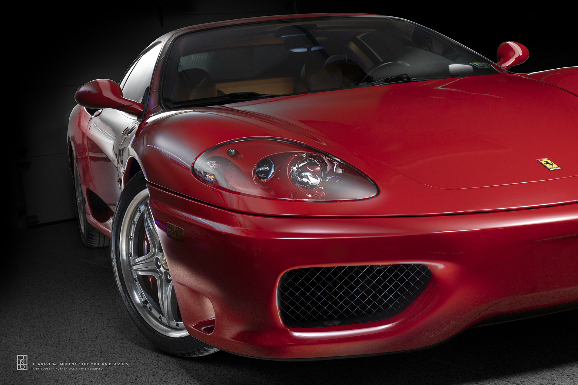 Ferrari 360 Modena Corner Limited Edition Joseph Nother
