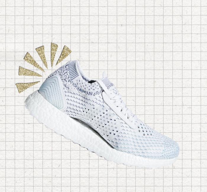 Adidas feat. Parley - Quand le plastique qui pollue les mers est récupéré pour fabriquer des baskets - le bon point du géant du sport.