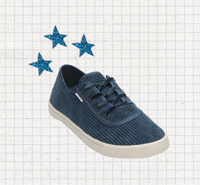Tom's - L'inventeur des shoes humanitaires (chaque paire achetée correspond à un don d'une paire neuve pour un enfant dans le besoin) a aussi son onglet vegan.