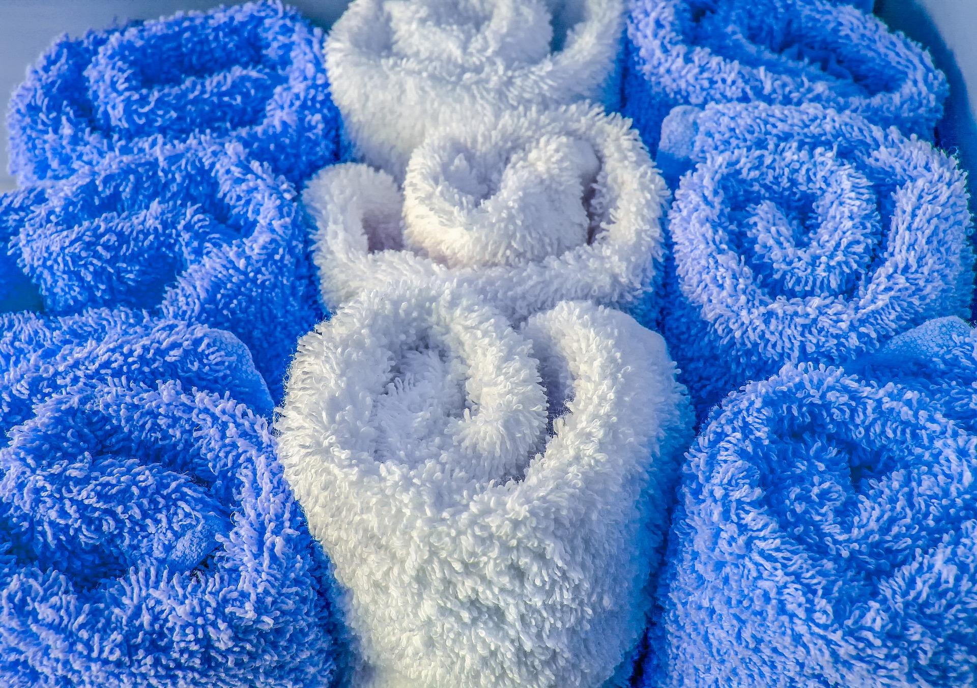 4. Frozen Washcloths