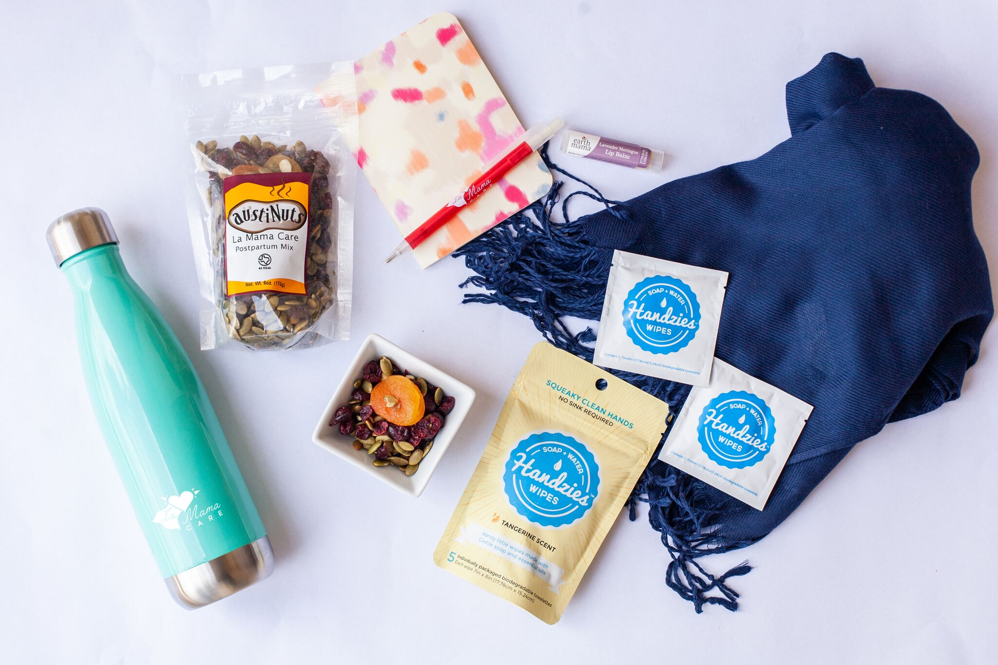 We see you, Mama. - Our signature postpartum kits are curated specifically for new mamas by mamas. Each box includes supplies to help provide physical and mental support. Each item has been carefully vetted by The Mamas. We also order in small batches so we can adjust based on feedback from the mamas who get our kits.