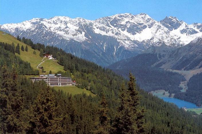 The Schatzalp Hotel  Davos, Switzerland