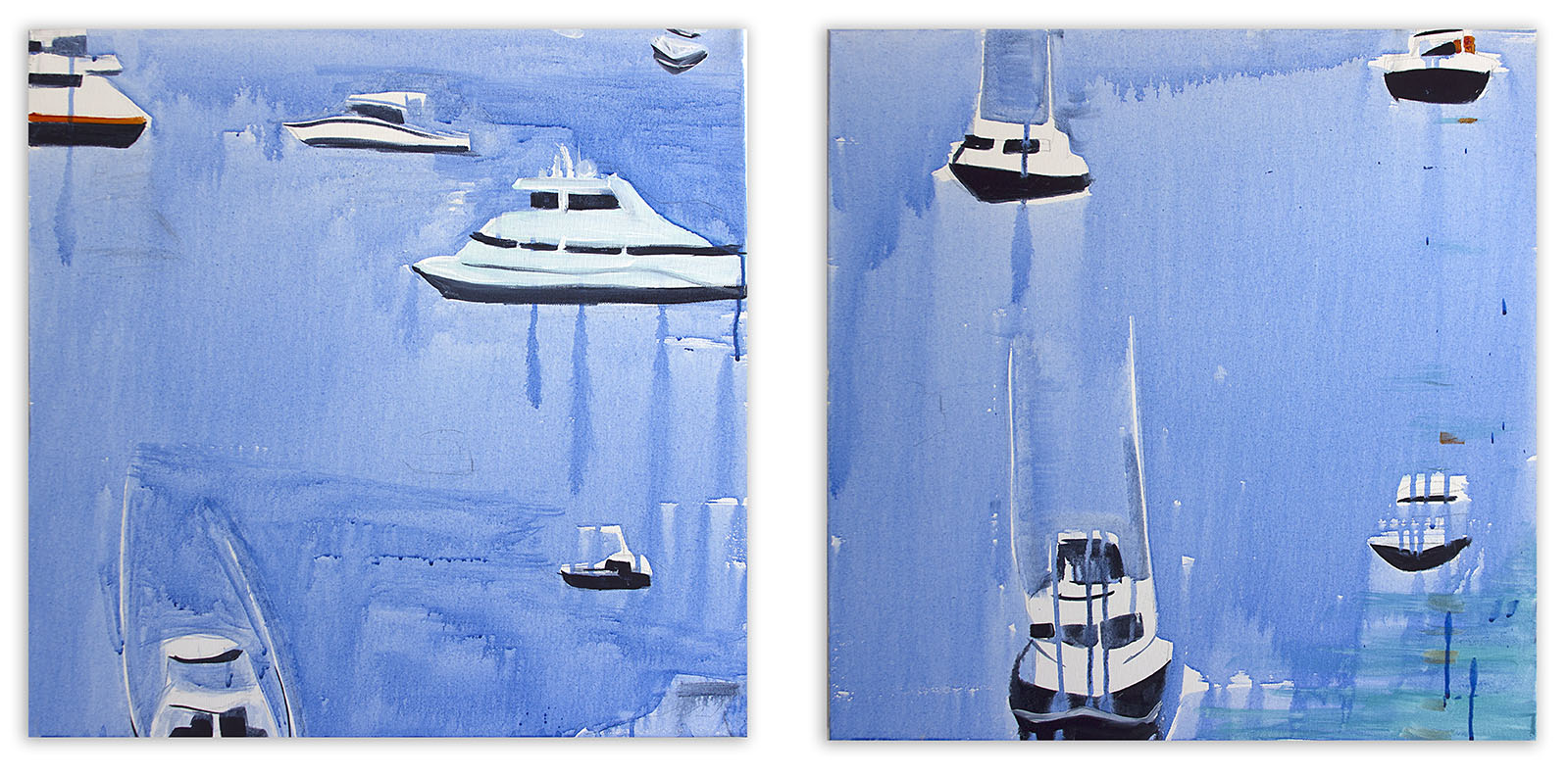 Harbor (diptych)
