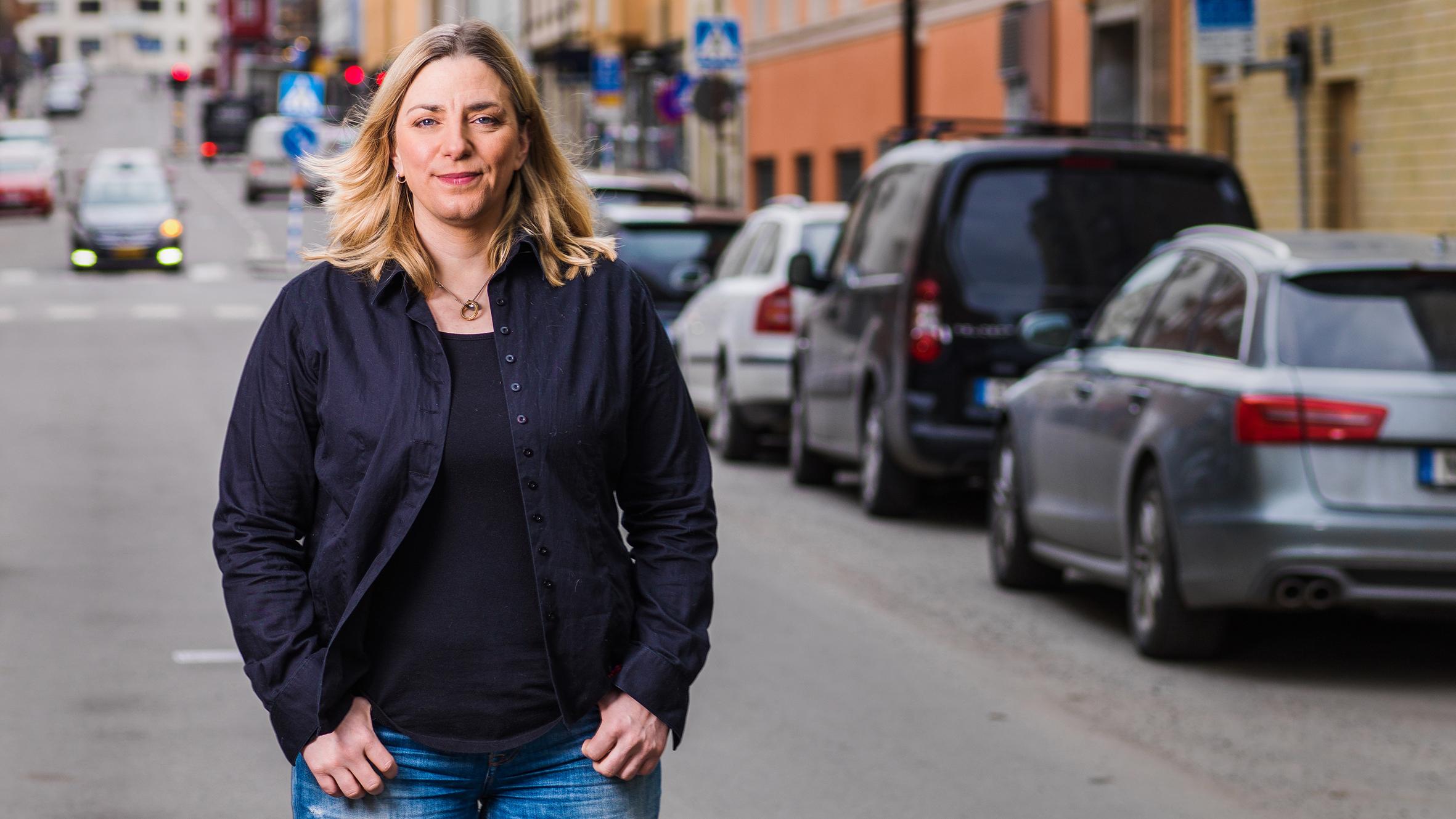 Anna Troberg, förbundsordförande för DIK, facket för kultur och kommunikation.  Foto: Alexander Kallas