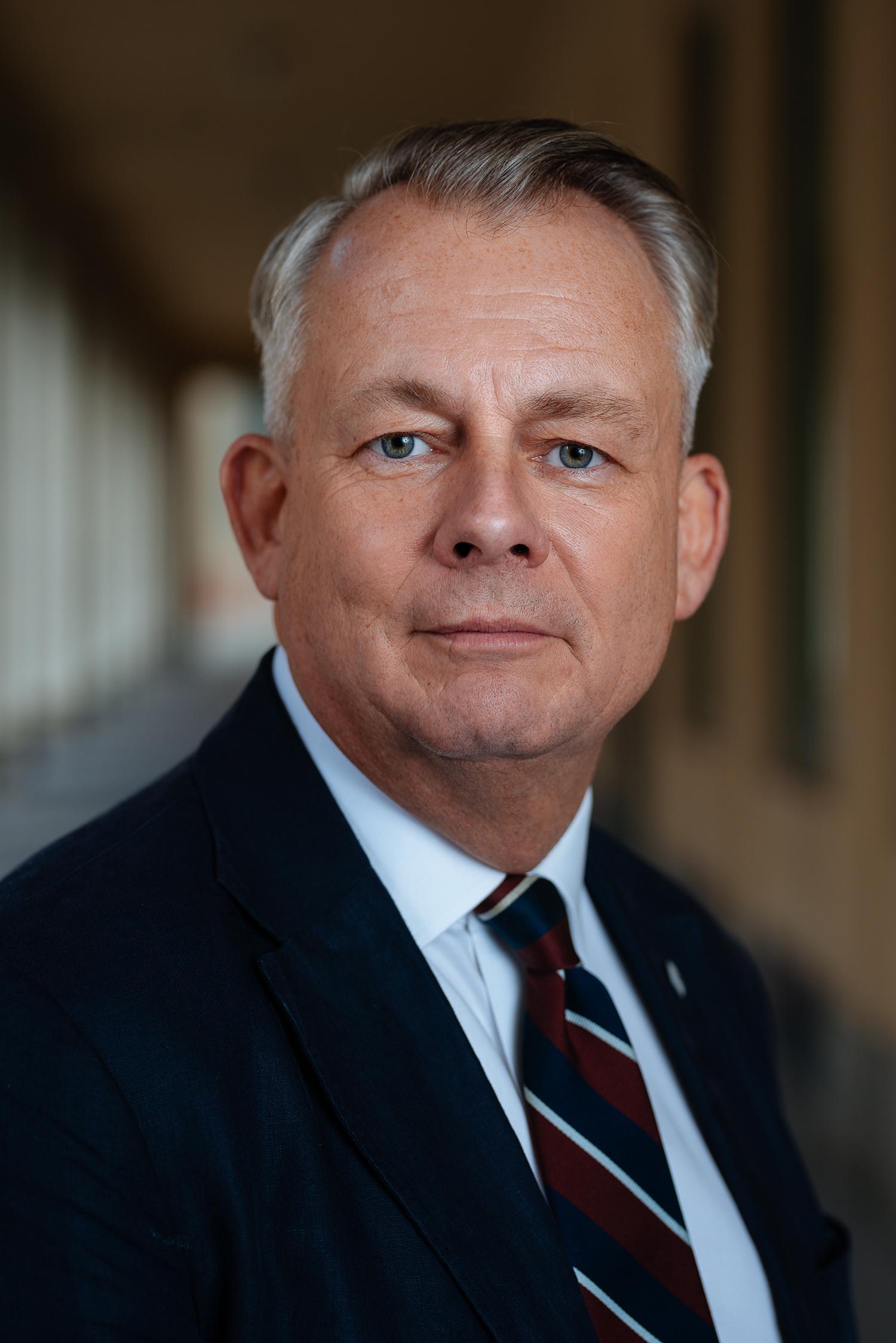 Göran Arrius, ordförande Saco. FOTO: Knut Capra Pedersen