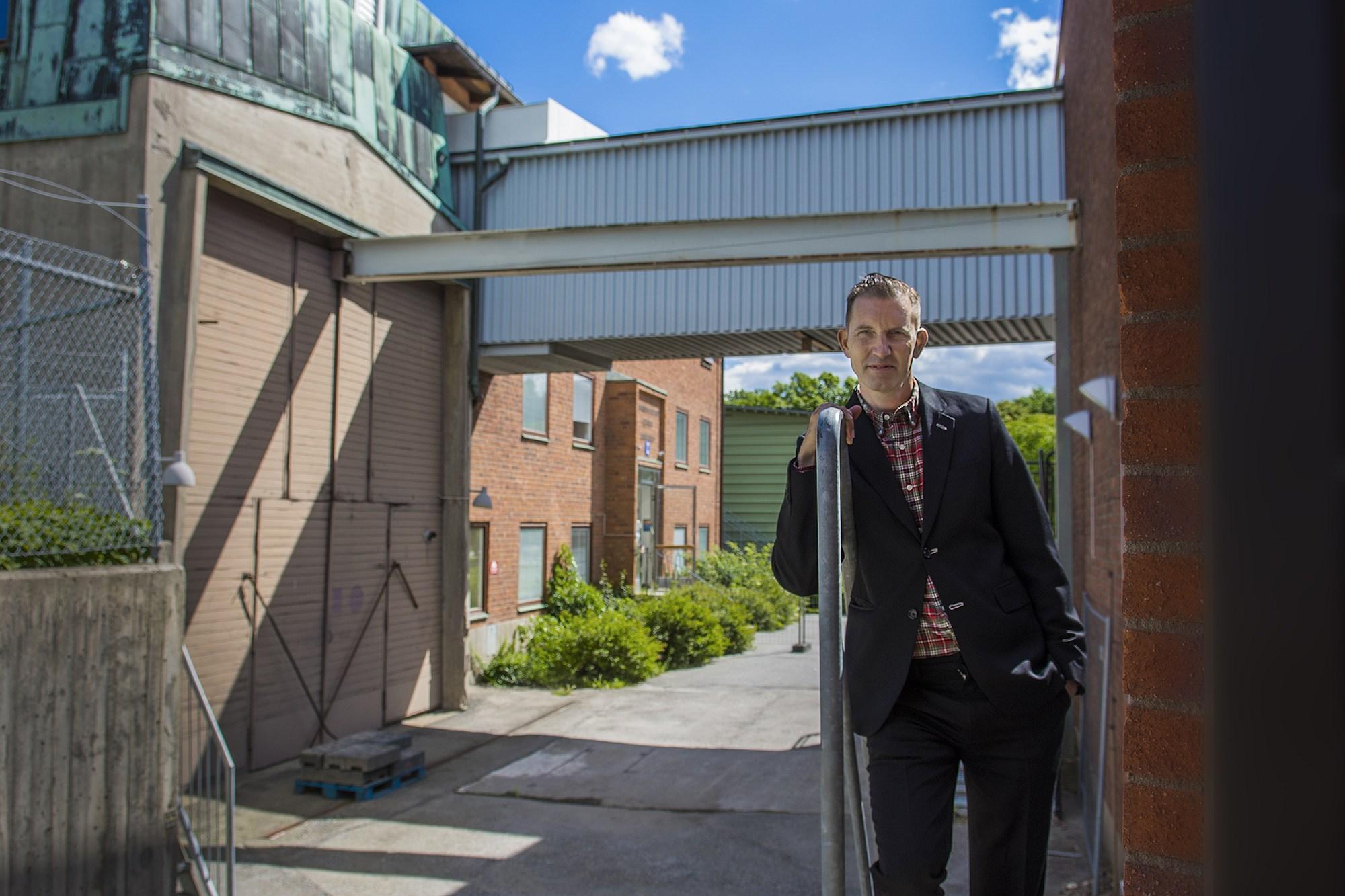 Richard Julin. FOTO: Ingmarie Andersson/Stockholms universitet