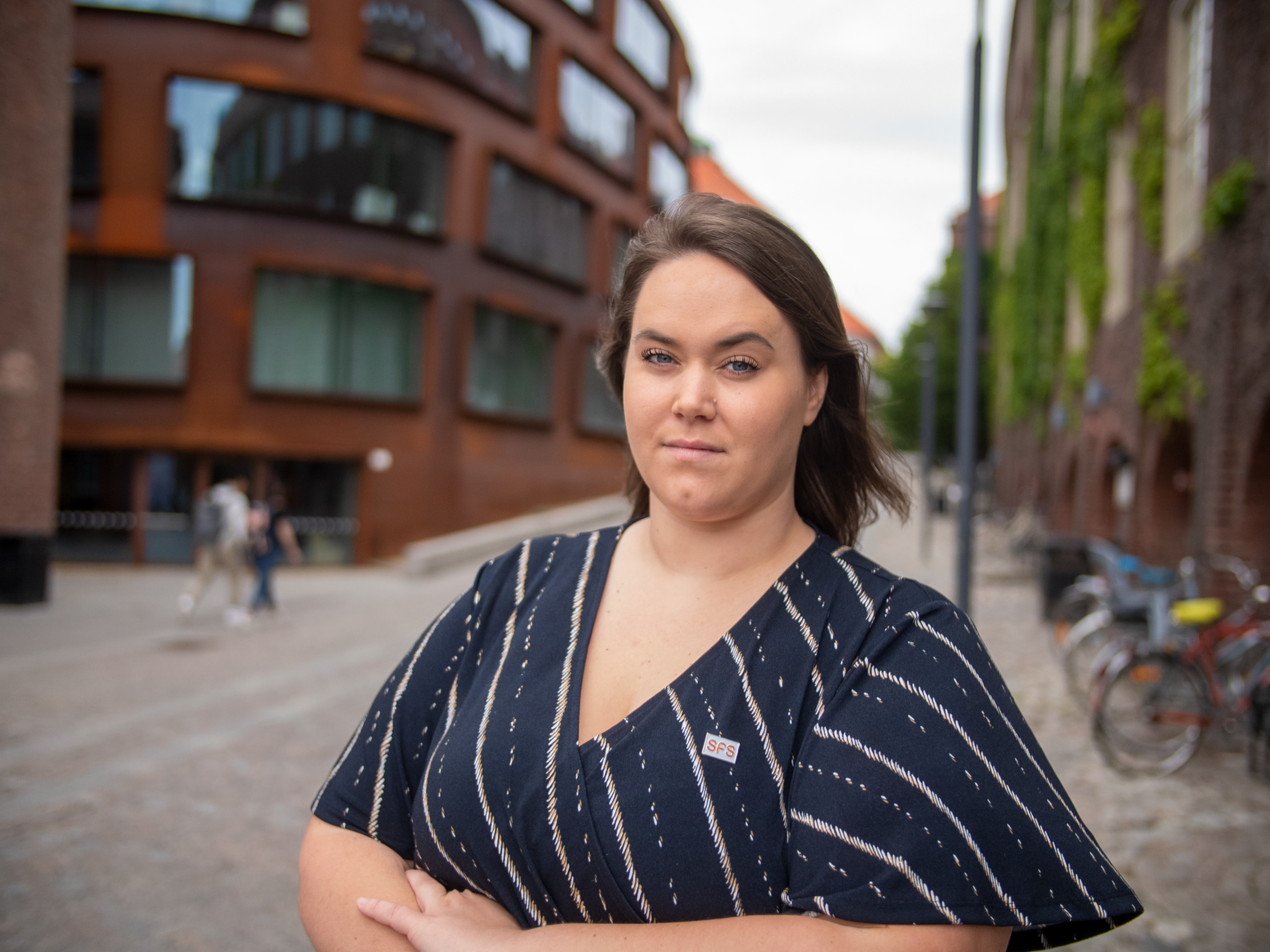 Matilda Strömberg, Ordförande SFS. FOTO: SFS