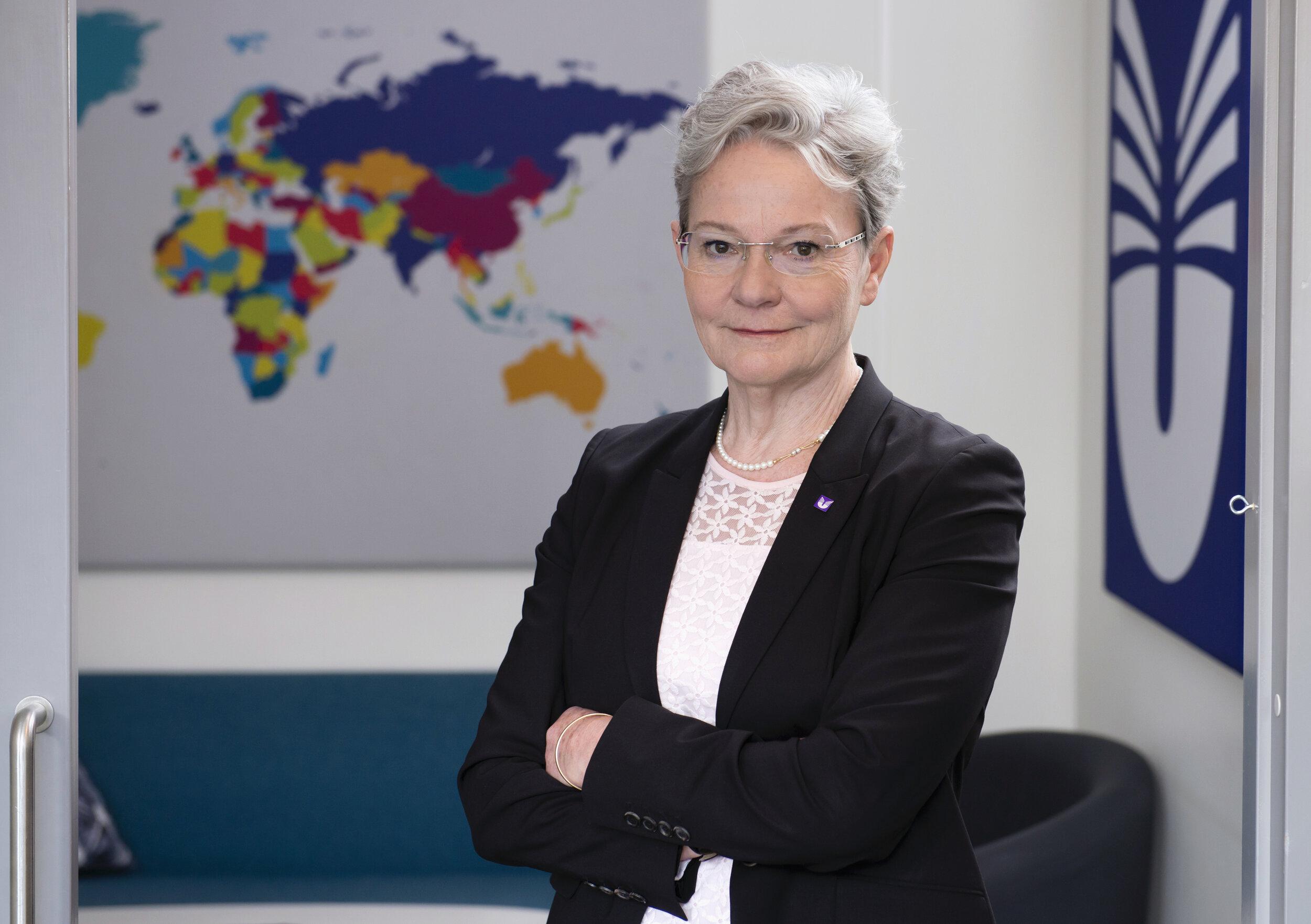 UHR:s generaldirektör Karin Röding. FOTO: Eva Dalin