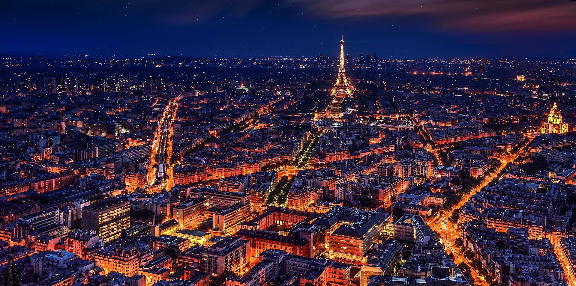 Create a bucket list in your city. Pictured: Skyline of Paris.