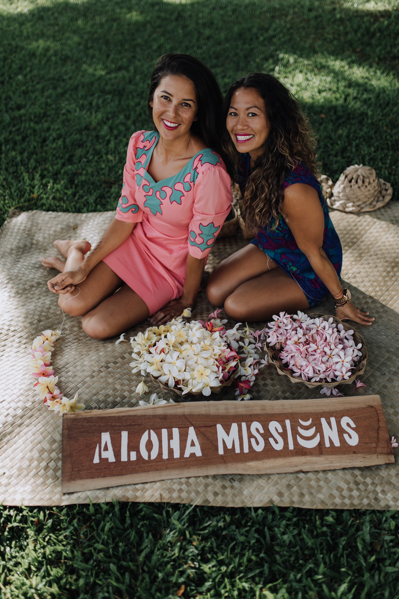 Lesley Cummings and Tamika Cabiles, creators of Aloha Missions.
