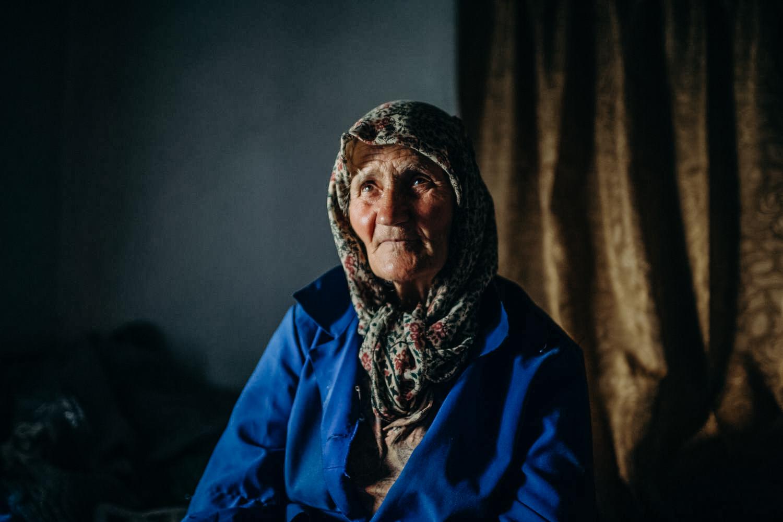 Baba in her bedroom, Kushla, Bulgaria, June 2017.