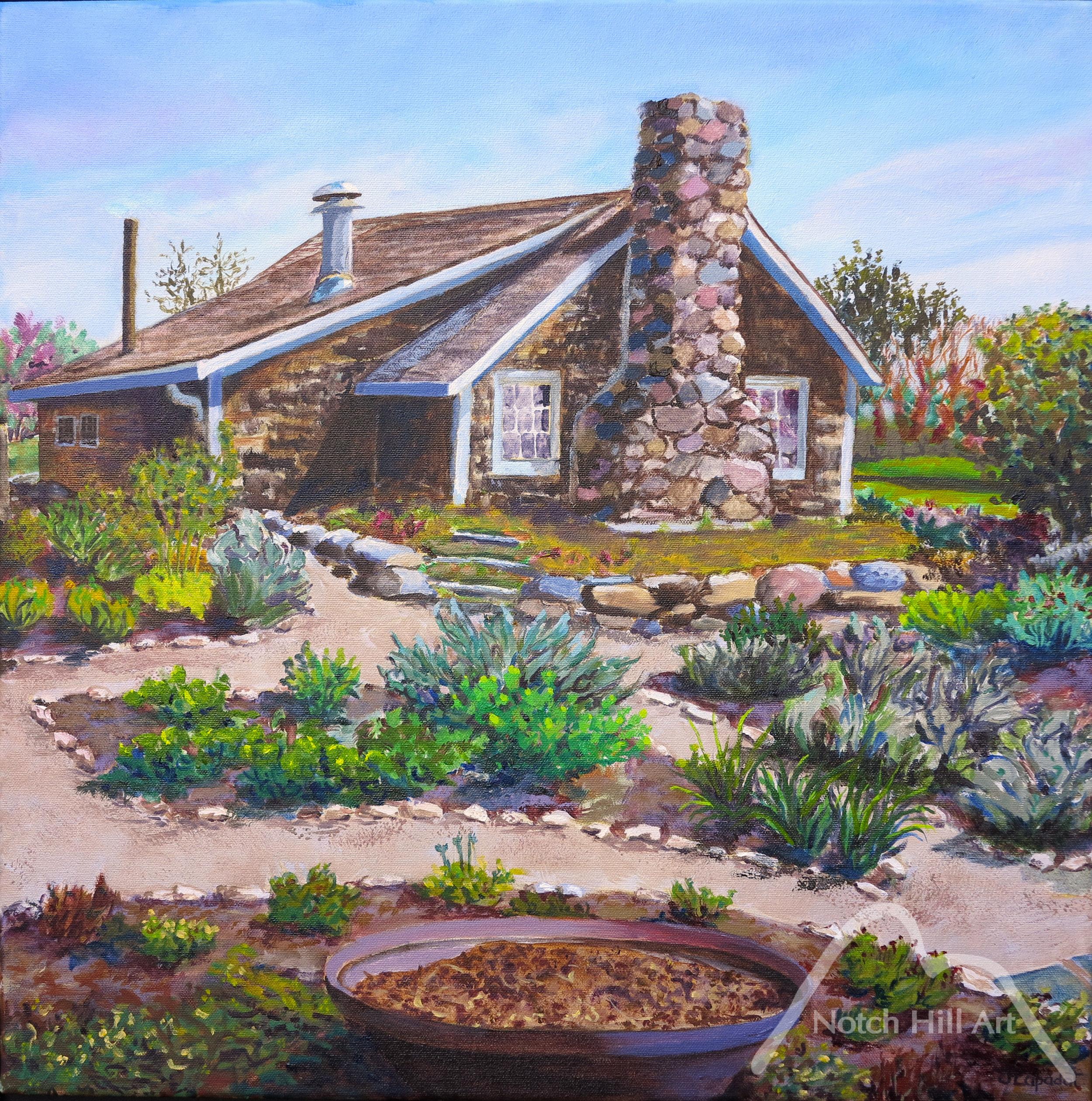 May Garden Behind the Chicken Coop